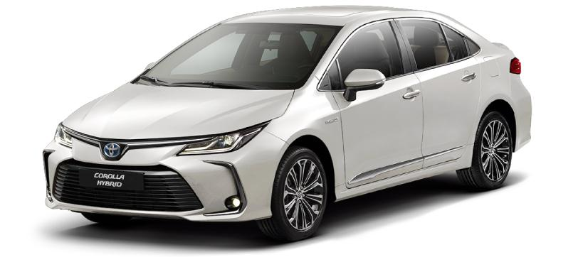 Nassco Limited: Corolla Hybrid - Fully Loaded White Pearl