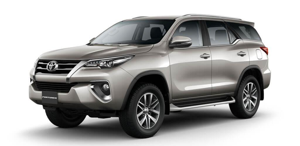 Nassco Limited: Fortuner - Loaded/Fabric Seats Silver