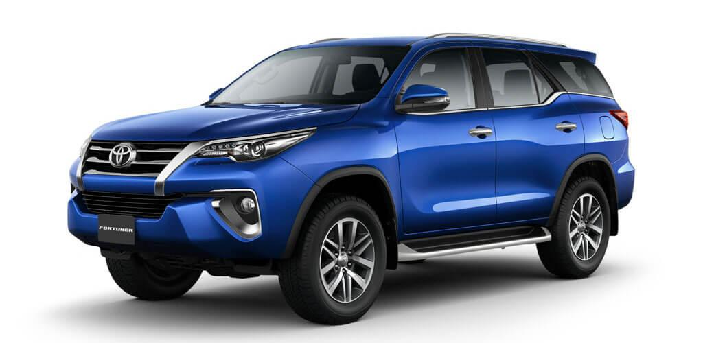 Nassco Limited: Fortuner - Loaded/Fabric Seats Blue