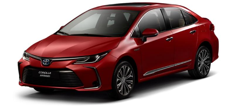 Nassco Limited: Corolla Hybrid - Fully Loaded Red Mica Metallic