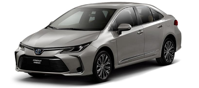 Nassco Limited: Corolla Hybrid - Fully Loaded Silver