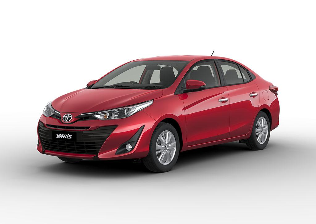 Nassco Limited: Yaris Sedan - Basic Loaded Red