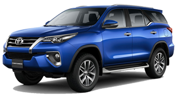 Nassco Limited: Fortuner - Loaded/Fabric Seats