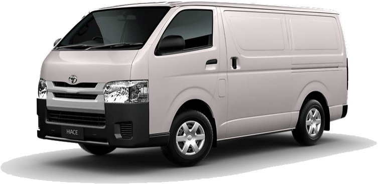 Nassco Limited: Hiace Panel Van - Standard Roof French Vanilla