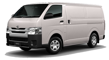 Nassco Limited: Hiace Panel Van - Standard Roof